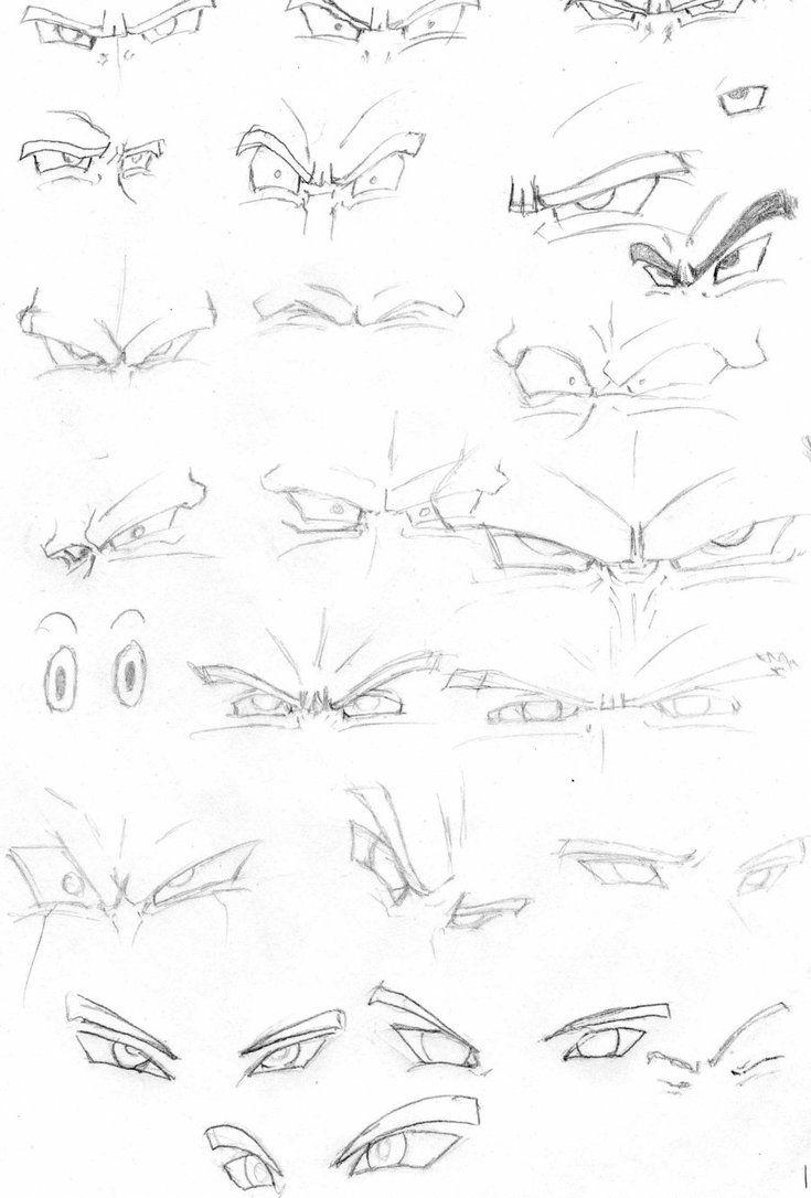 ojos db by rasec-dragon-91   Anatomia   Pinterest   Broly ssj ...