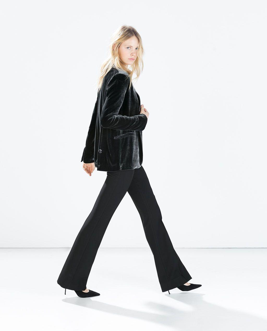 AltoStylism High Tiro Waisted Mujer Pantalon Campana Zara yvYb76gIf