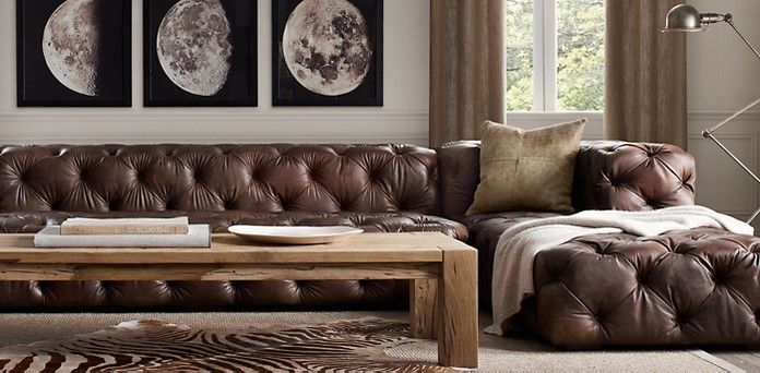 The Fat Hydrangea: Restoration Hardware *Knock-Off* Couch