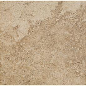 Del Conca Roman Stone Noce Thru Body Porcelain Indoor Outdoor Floor Tile Common X Actual