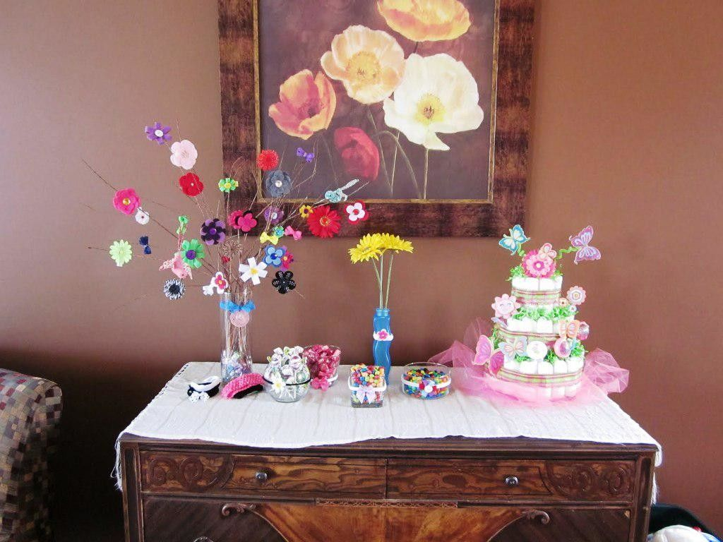 Homemade baby shower table decoration ideas - Homemade Baby Shower Decorations Ideas 1