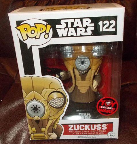 Limited Edition Funko Pop! Star Wars Zuckuss Vinyl Figur