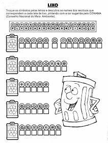 Atividade Sobre O Lixo Atividades Sobre Reciclagem Atividades