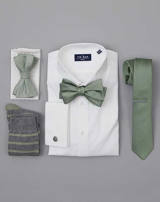 The Tie Bar Wedding Accessories Sage Green Wedding Accessories Green Tuxedo #sagegreendress