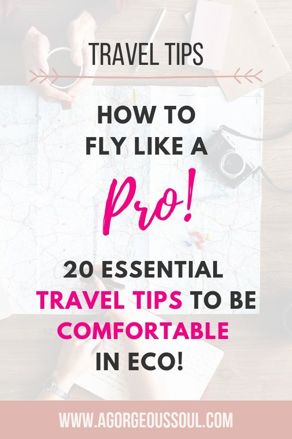 44 of The Best Travel Accessories & 20 Secret Tips for Long Flights is part of Brilliant Travel Accessories Every Traveller Must Have In - Wanna know how to be more relaxed on board & survive long flights despite economy  Say hi to 44 of the best travel accessories & 20 travel hacks for 2019!