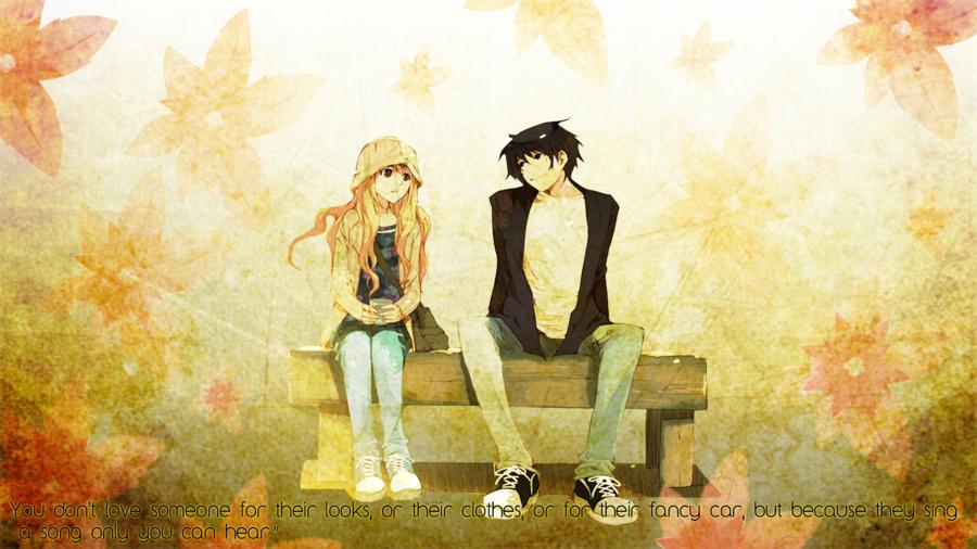 Anime Romance Wallpaper By Lemonkush Deviantart Com On Deviantart