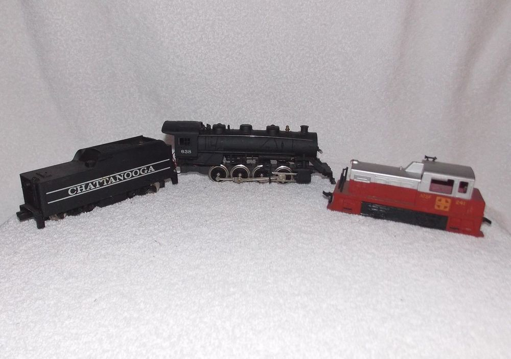 Tyco Chattanooga 638 Electric Train Engine & Coal Car, Red 241 Tyco Train  Engine   Electric train, Train, Train enginesPinterest