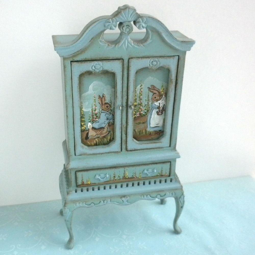 Dollhouse Miniatures Jensen: Details About Karen Markland 1987 Peter Rabbit Beatrix