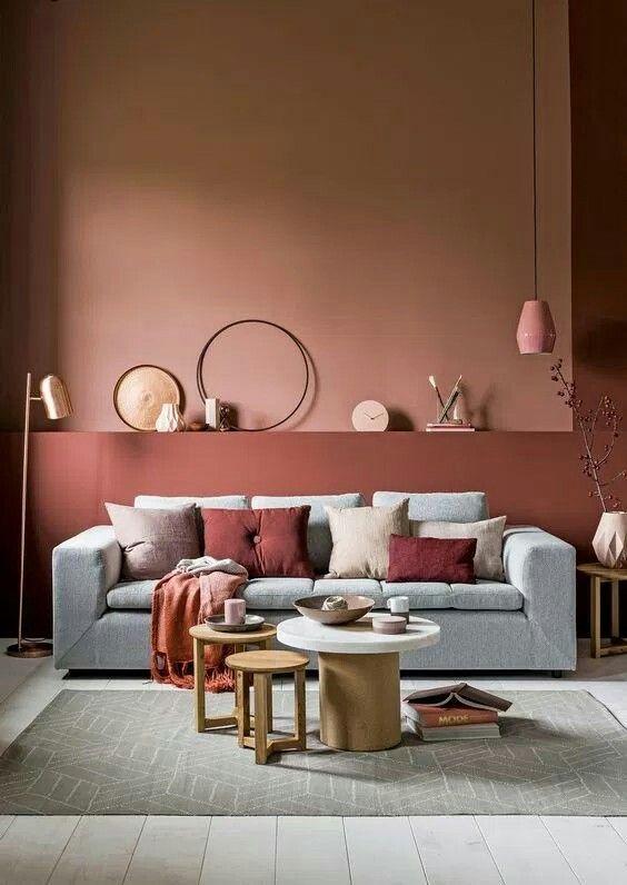 Charmant Wandfarben, Wohnzimmer Inspiration, Zimmer Einrichten, Wandfarbe Farbtöne,  Wohn Schlafzimmer, Farbkonzept, Farbkombinationen, Neuheiten, Zuhause