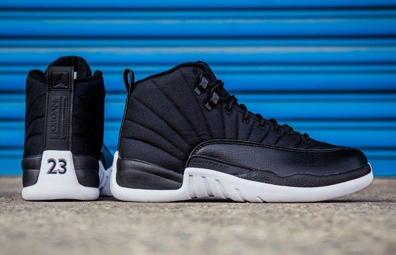 meet 39bce 8508f Air Jordan 12 Black Nylon Release Date - Sneaker Bar Detroit