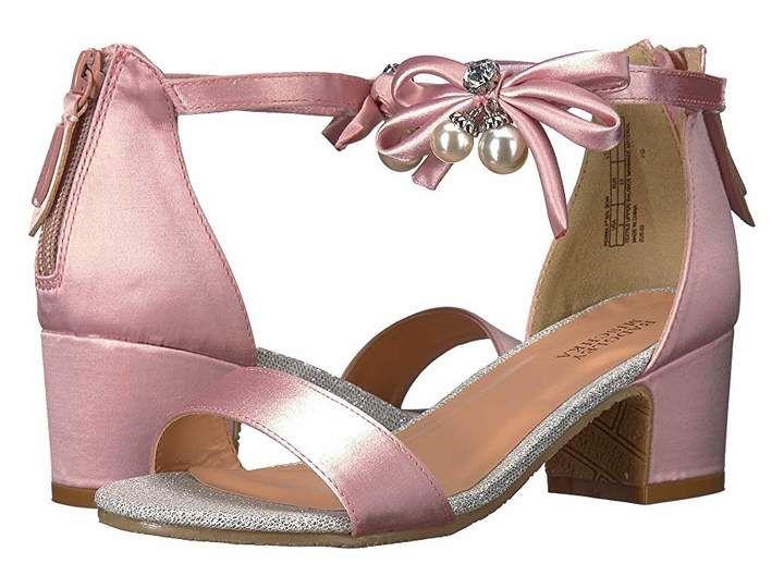 52f81555ceb927 Badgley Mischka Kids Pernia Pearl Bow (Little Kid Big Kid) Girls Dress Shoes