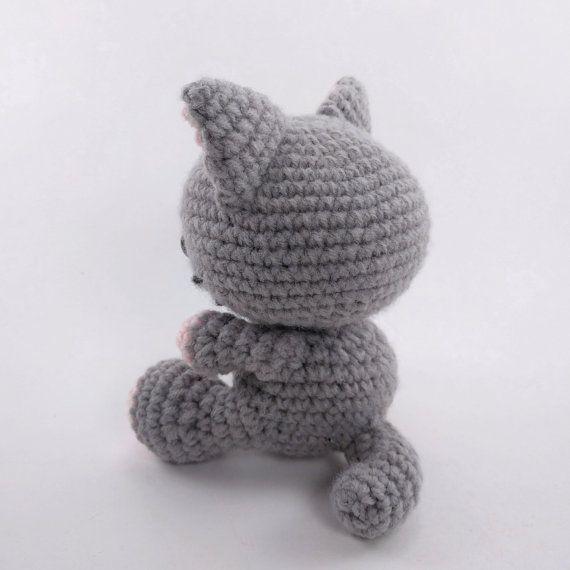 PATTERN: Crochet cat pattern - amigurumi cat pattern - crocheted ...
