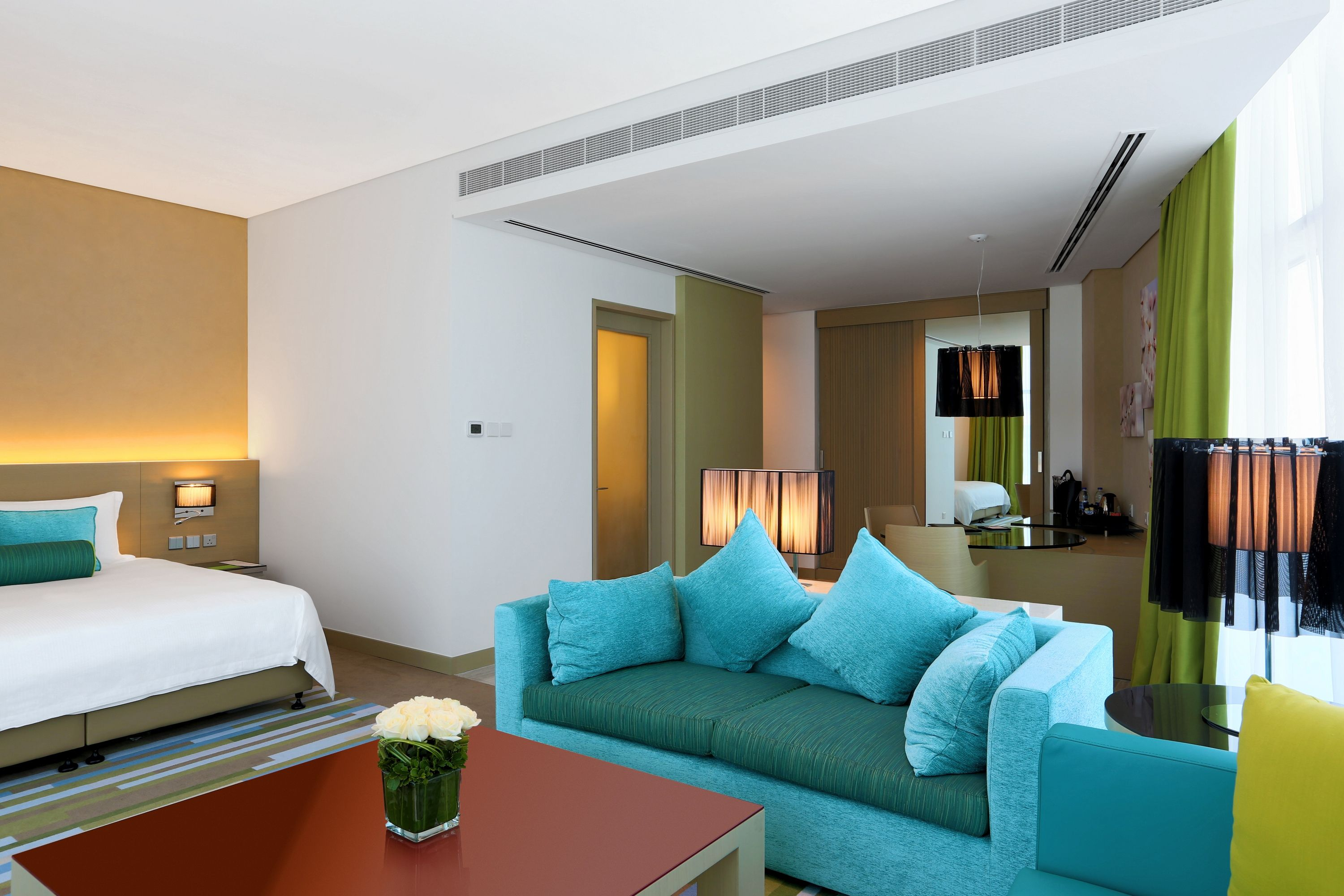 Experience luxury like no other at Downtown Rotana, the