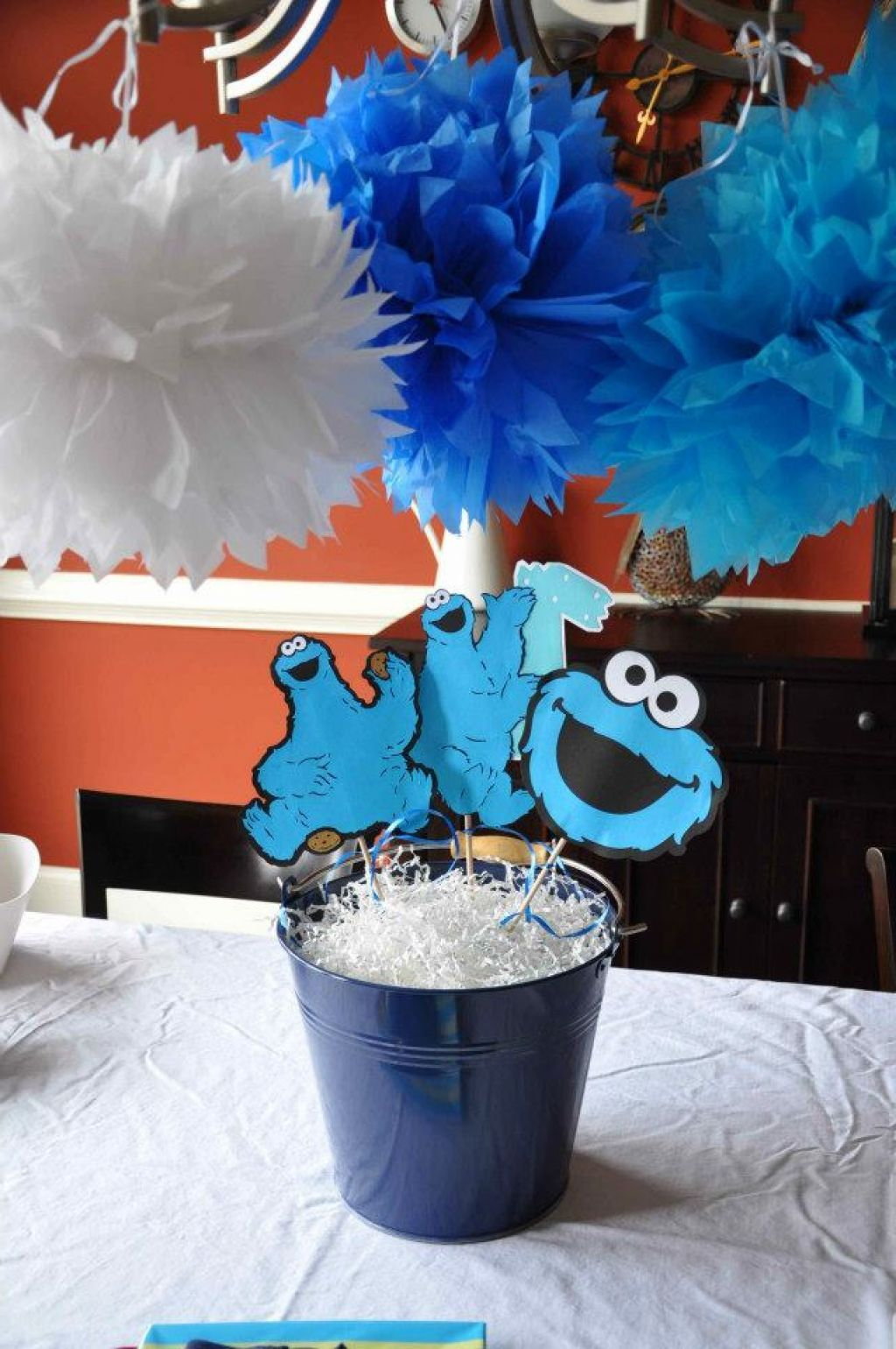 Cookie Monster Centerpiece Ideas : Cookie monster centerpiece ideas baptisms pinterest