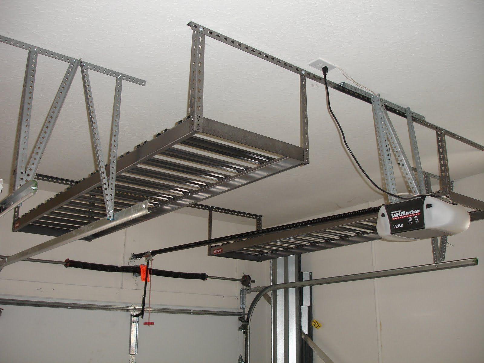 Garage Overhead Storage Design Garage Ceiling Storage Diy