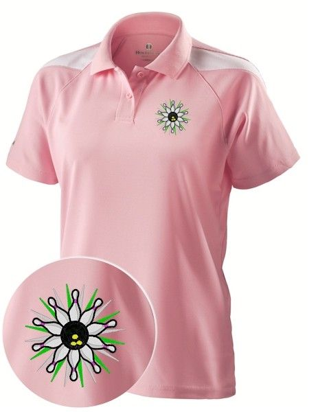 db2671b83b2 Pretty with Performance  Ladies Bowling Shirt