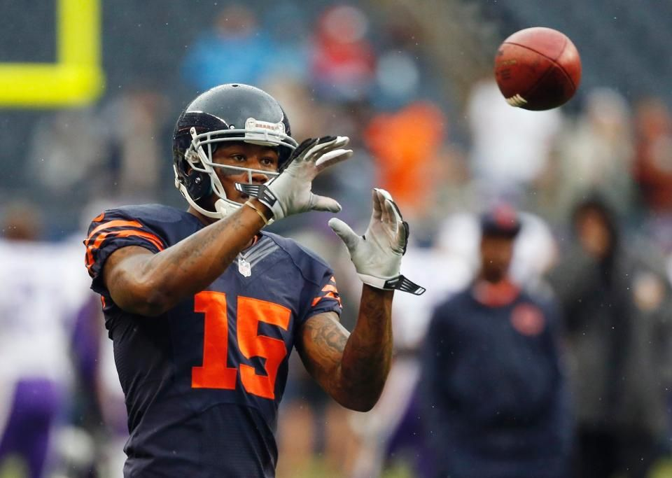Vikings Bears Football Brandon Marshall