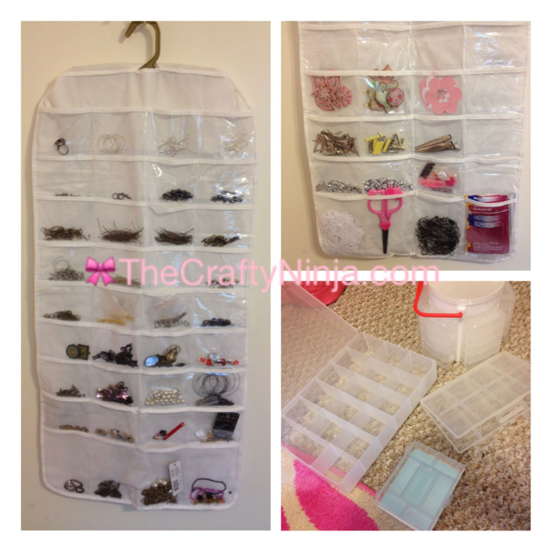 Organize jewelry findings and crafty things. http