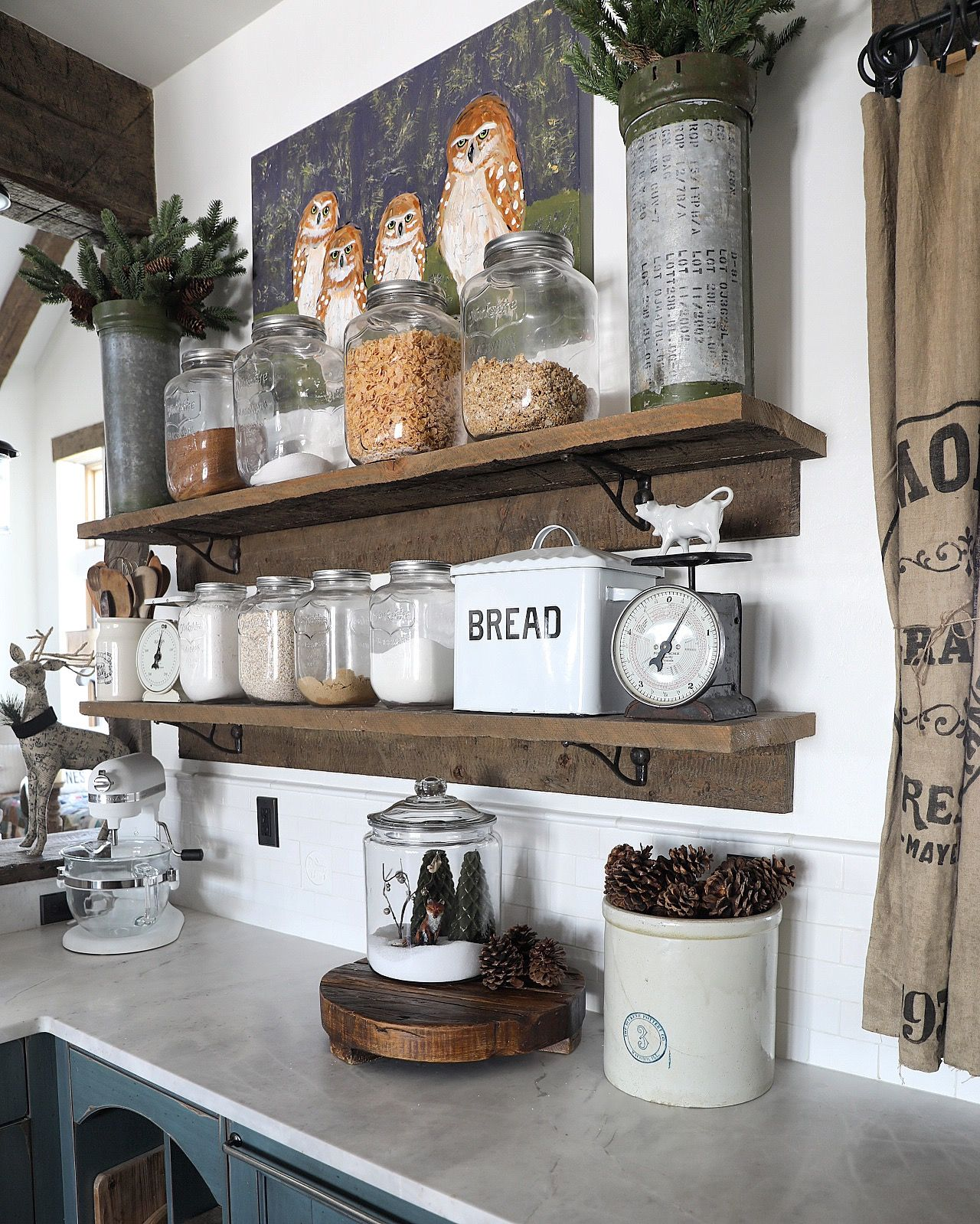 20 Charming Cottage Style Kitchen Decors: Pin By Catherine Pritzlaff On Re-Doing Home