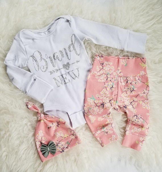 Baby girl coming home outfit newborn girl outfit baby girl