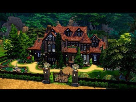 The Sims 4 Speed Build Winchester House