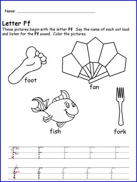 letter f for objects worksheet kindergarten kindergarten print for camp letter worksheets. Black Bedroom Furniture Sets. Home Design Ideas