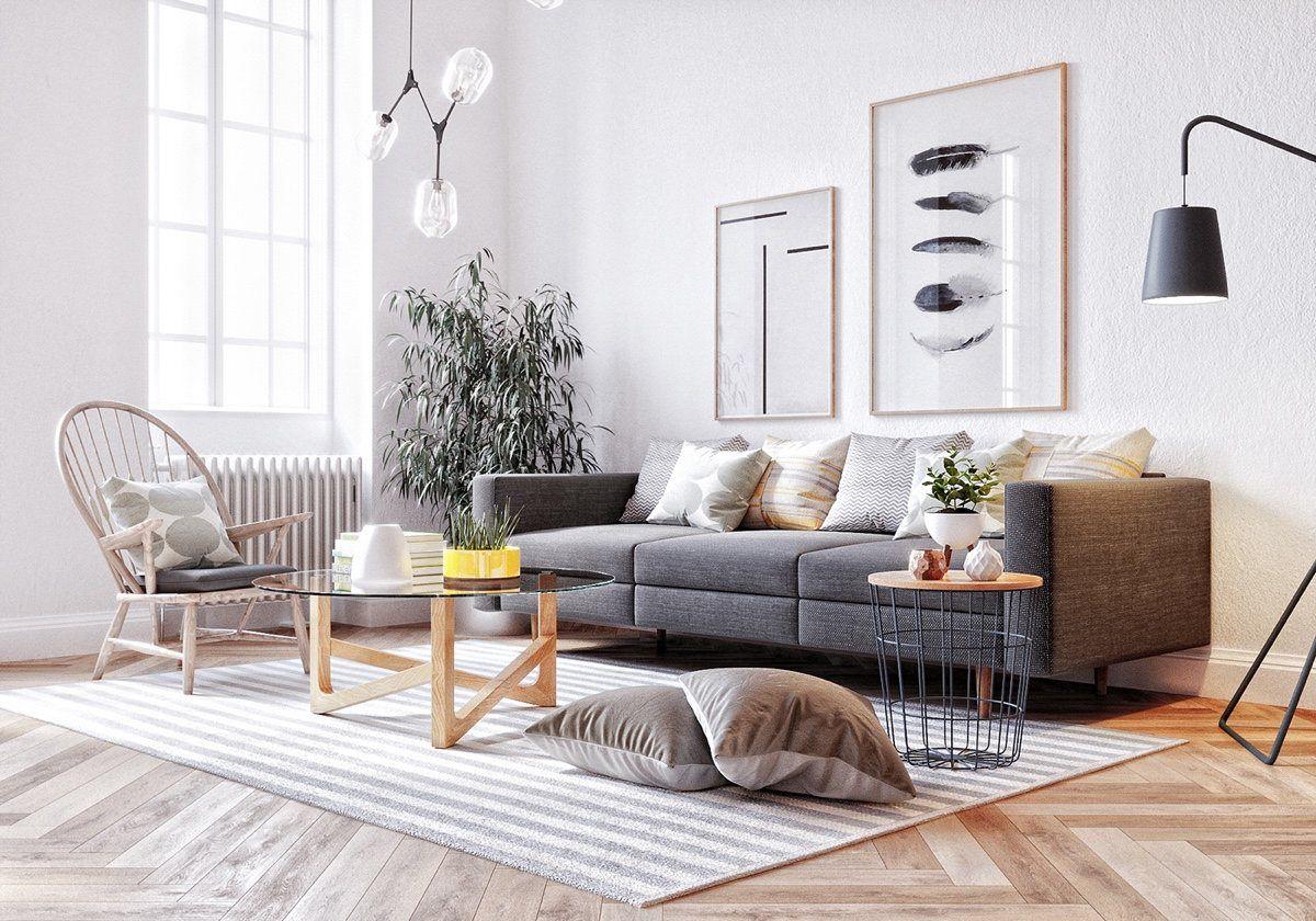 Six Scandinavian Interiors That Make The Lived In Look Inspirational Living Room Scandinavian Scandinavian Design Living Room Living Room Designs