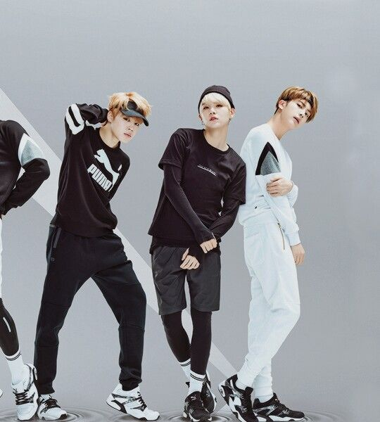 Jimin, Suga & Jin