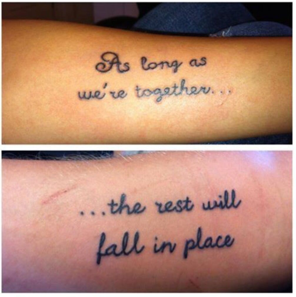 Love Quotes Tattoos For Couples Pindanielle Demarais On I 3 Mike  Pinterest  Tattoo