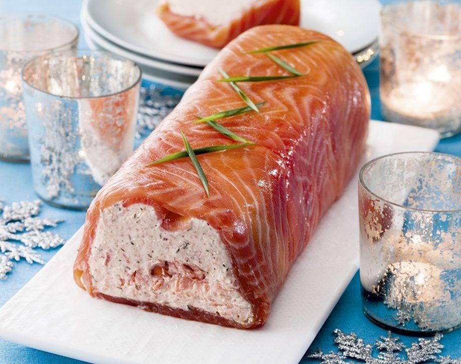 Smoked Salmon Terrine - #Salmon #Smoked #Terrine #terrinedesaumon