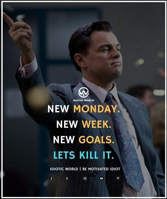 Happy Monday For More Quotes Follow Idiotic Money