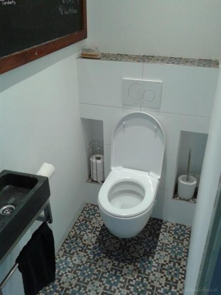 Toilet portugese tegels google zoeken wc ontwerp pinterest vloertegels toiletten en wc - Wc tegel ...