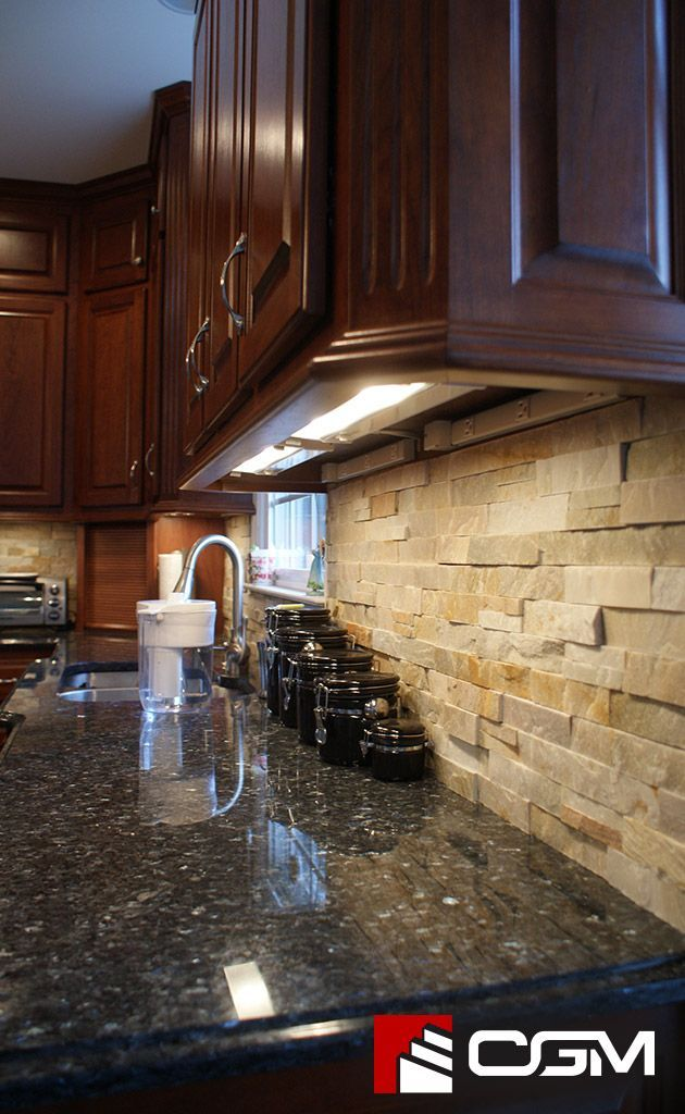 Blue Pearl Classic Granite Kitchen Countertops Richmond