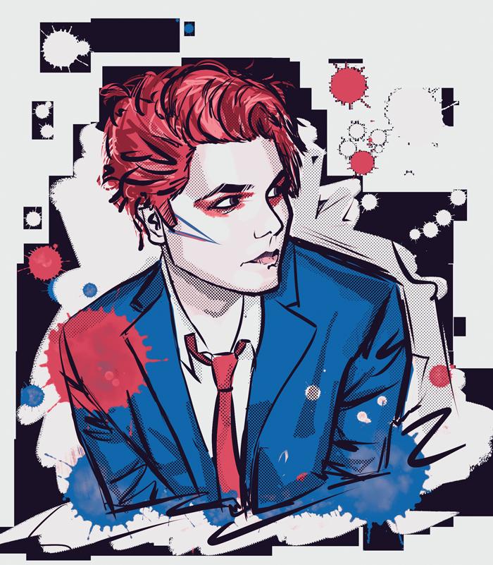 Eszter On Twitter Gerard Way Art My Chemical Romance Gerard Way