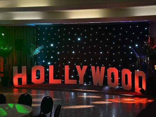 restaurant reservation hollywood theme party - Hollywood Party Decorations