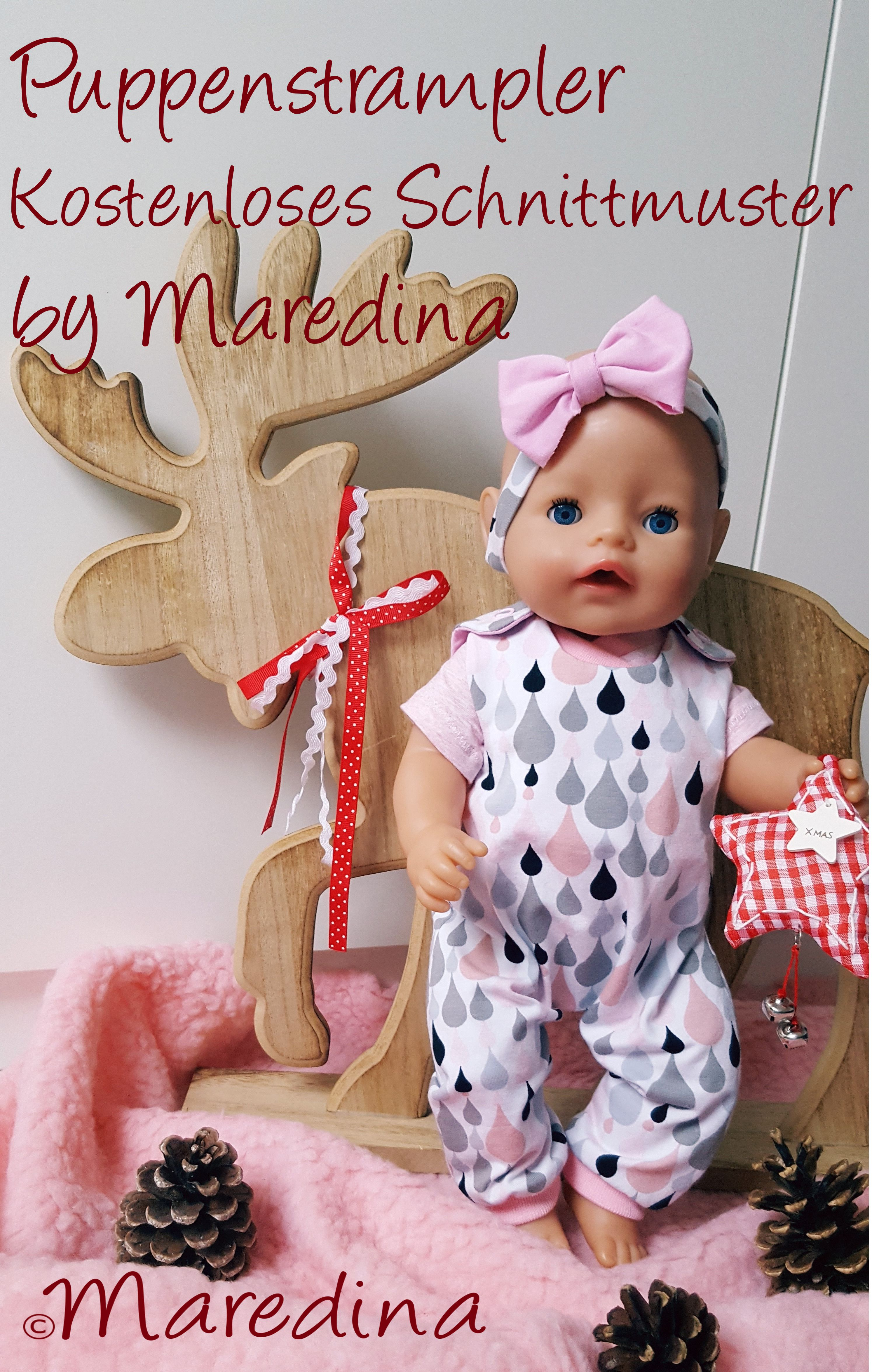 Puppenstrampler – by Maredina