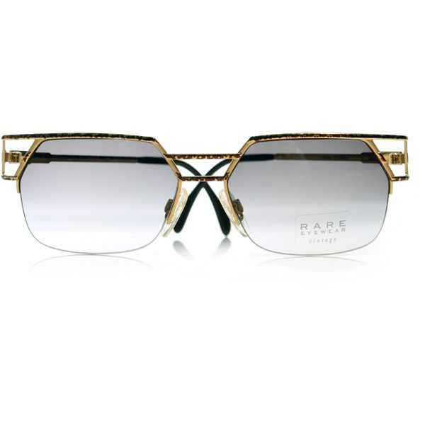 7bf6d740b7a3 Rare Eyewear – Versace & Cazal Sunglasses   Now Available   Wish Blog ❤  liked on Polyvore featuring accessories, eyewear and sunglasses