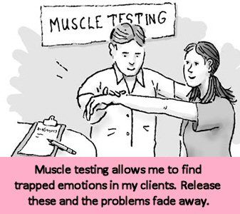 Muscle testing can uncover buried emotions from your current life, inherited from your ancestors or carried with you from past lives. Your body will convey a story with a negative emotion and we release that emotion with tapping. This can change your emotional and physical well-being.