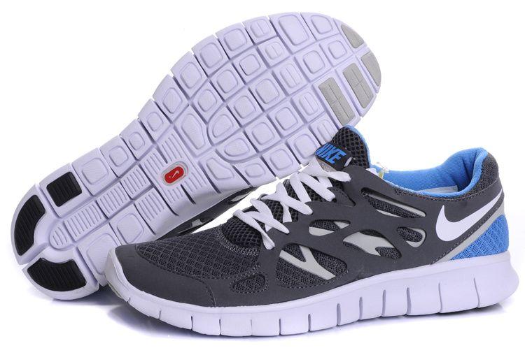 Nike Free Run 2 Herren Grau Blau