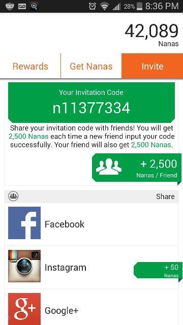 Appnana Invitation Code Please Use Thank You P Coding Free