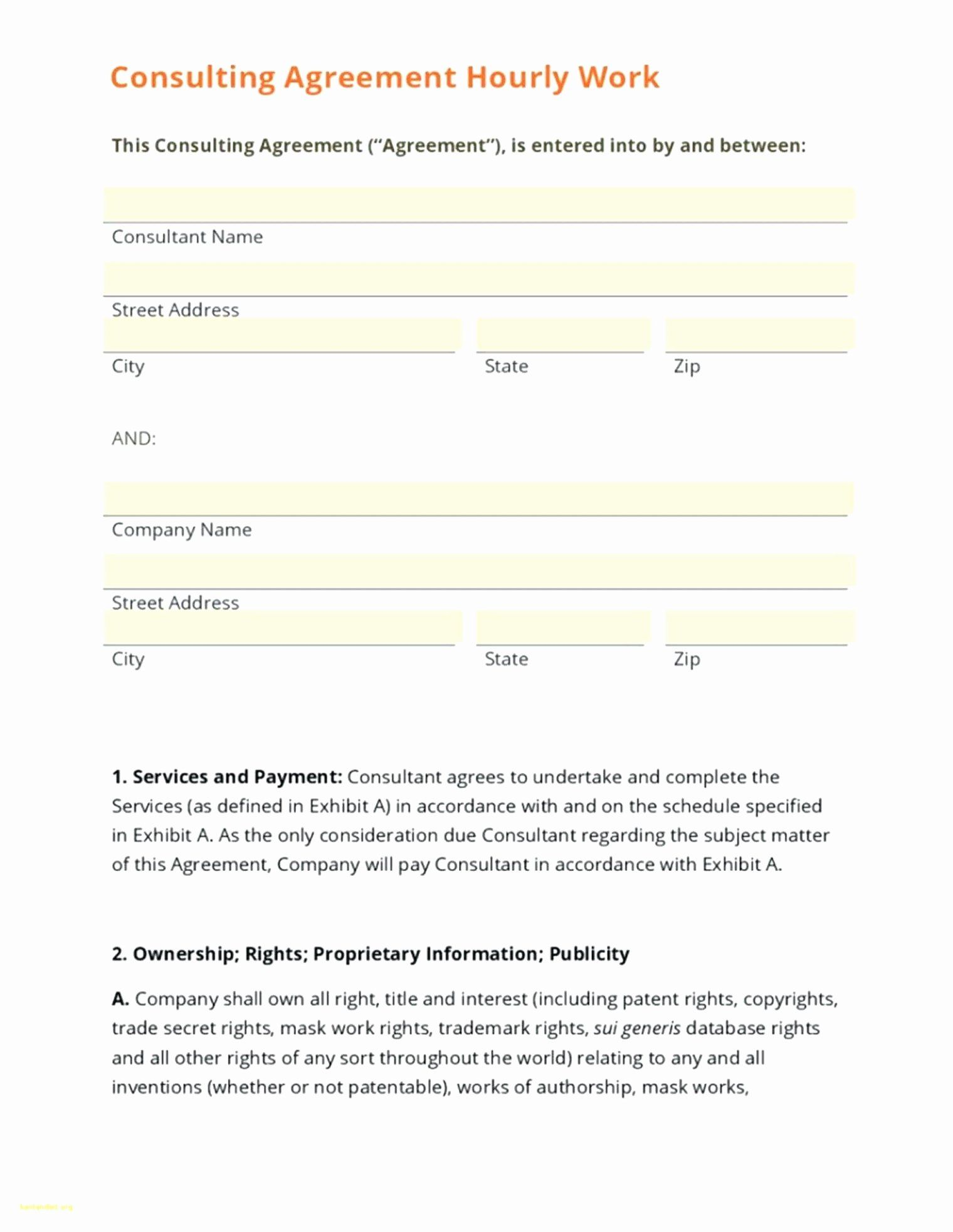 Short Consulting Agreement Template Lovely Consulting Agreement Template Fillable Short Form Templates Web Design Contract Agreement