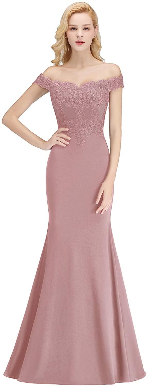 Babyonlinedress® 2019 Damen Elegant Etui Lang Meerjungfrau ...