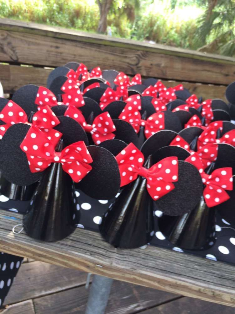 Mickey Mouse / Minnie Mouse Birthday Party Ideas | Undefined