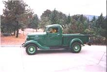 1936 Pickup Jim Carter Truck Parts Chevy Trucks