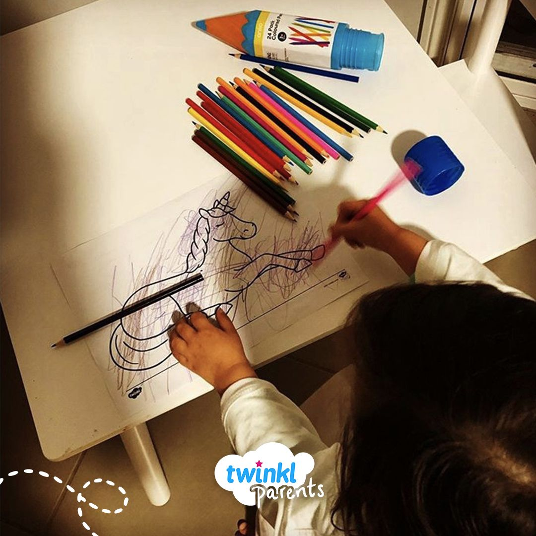 """There's always time for colouring in #Unicorns!"" - We ..."