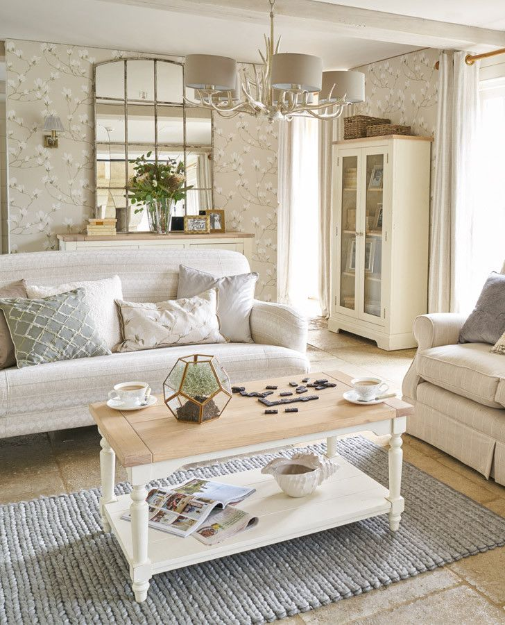 Magnolia Grove Natural Wallpaper #lauraashleyhome ...