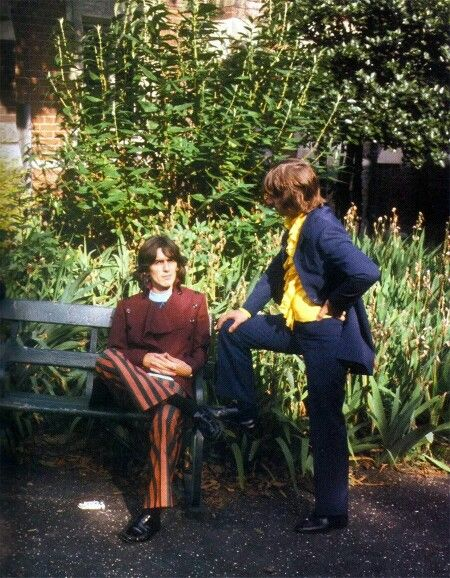 Beatles - George and Ringo - Mad Day Out