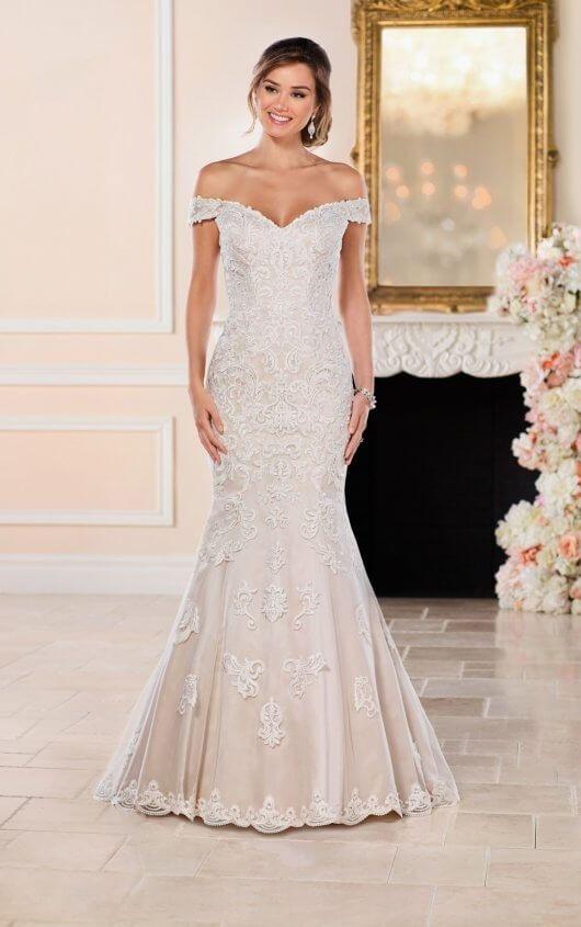 Vestidos de novia de sirena |  Vestido de novia glamoroso de la sirena |  Stella York  – Boda