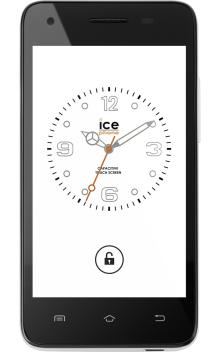 Visuel Du Telephone Icephone Ice Mini Noir Telephones Portables Portable