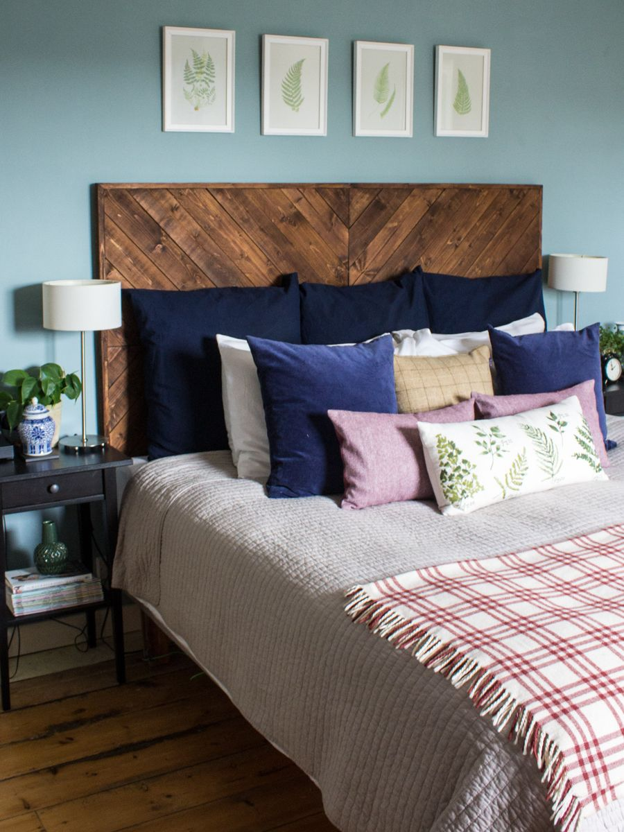 elm headboards teal headboard shelves single grey tufted upholstered bed with wall silver diy west